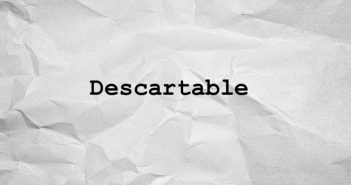 descartable
