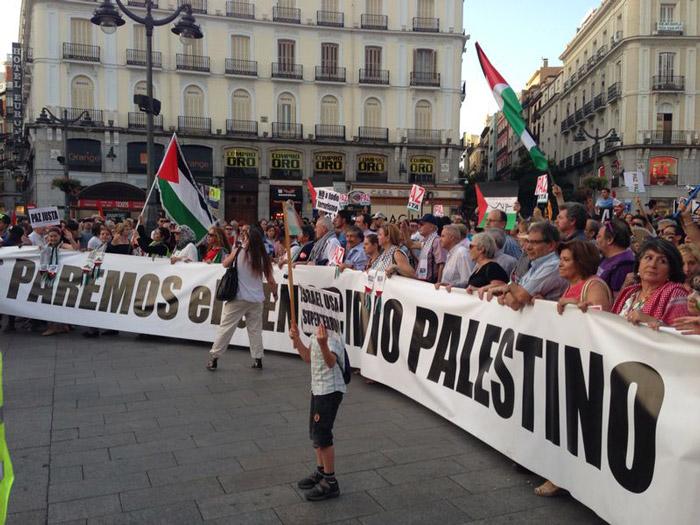 Manifestación por Gaza