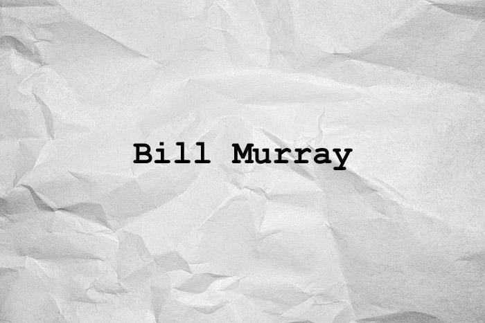 Ficción Bill Murray