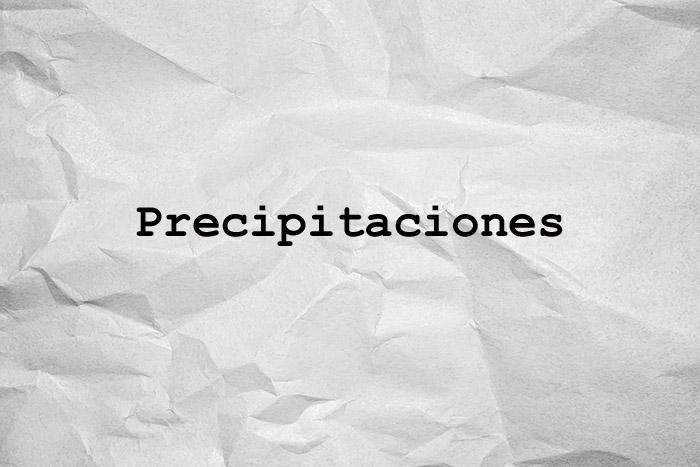 precipitaciones