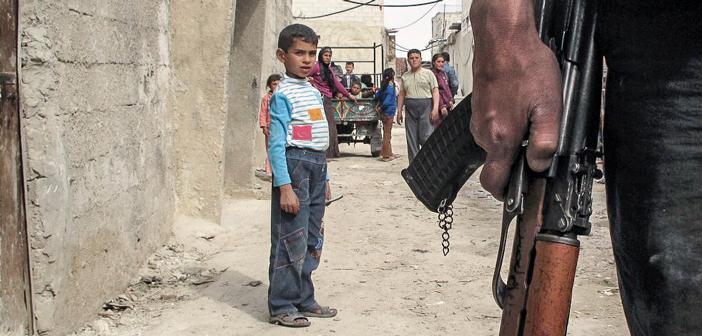 niños siria