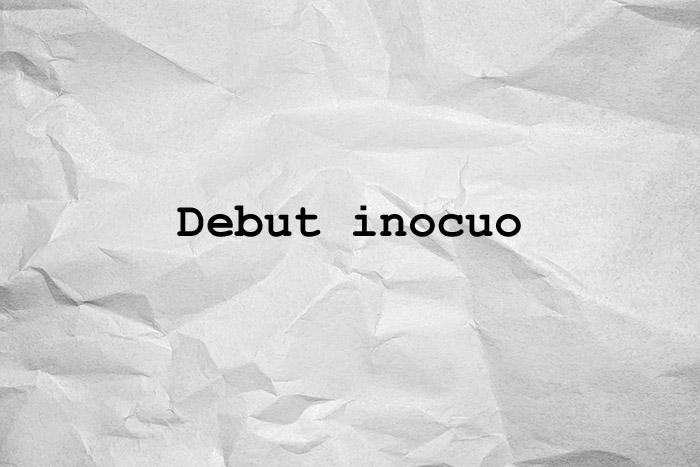 debut inocuo