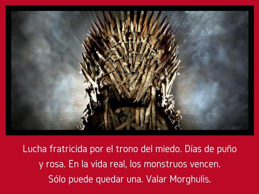 [¡Clic! En 140] Valar Morghulis
