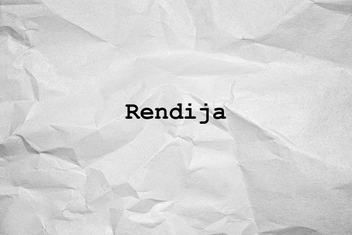 rendija