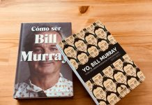 Bill Murray en diez libros portada