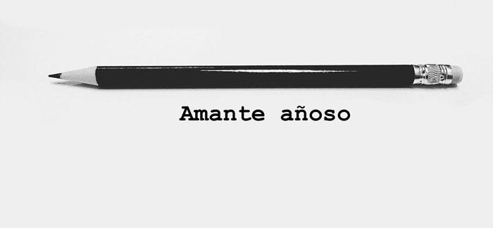 'Amante añoso', de Alejandro Cabrera Coronas