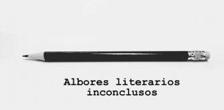 Albores literarios inconclusos portada